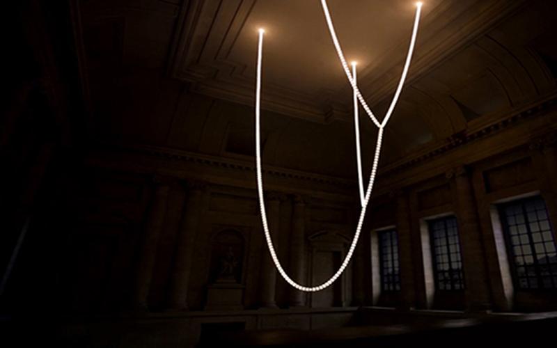 思华洛世奇水晶灯安装追踪记录拍摄