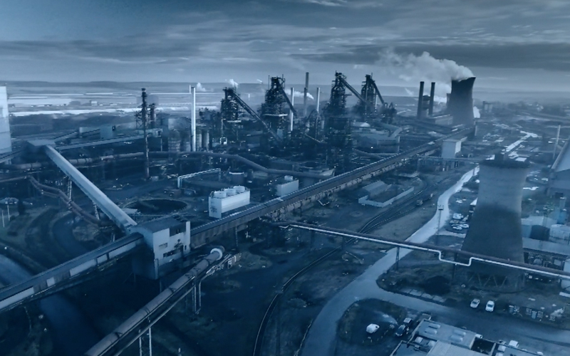 武钢集团企业视频宣传片拍摄