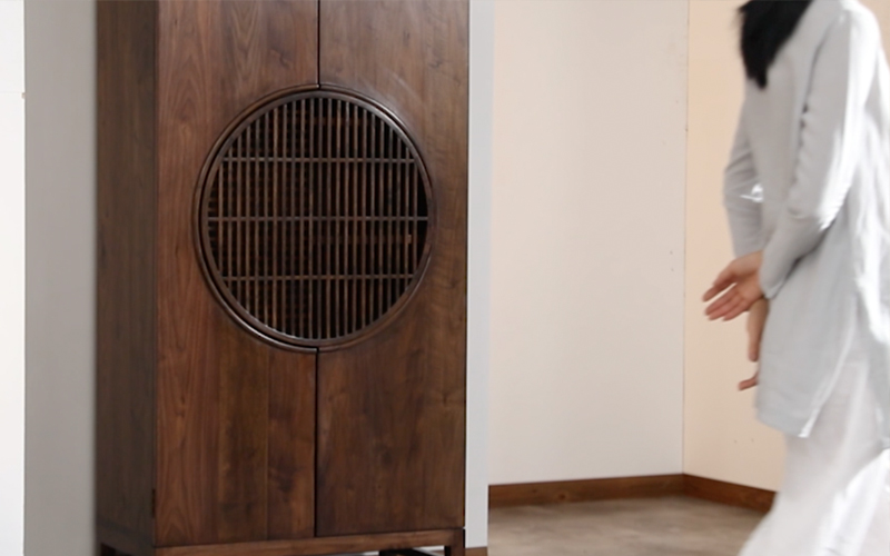 新中式胡桃木家具形象片